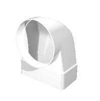 """Соединитель """"ERA"""" угловой 90° плоского воздуховода с фланцем (60х204/125) (620СК12,5ФП) арт 50310"""
