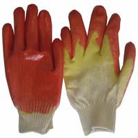 Перчатки МБС (оранжевый, двойная пропитка)