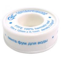 "Фум-лента ""THERMOFIX"" для воды (0,25г/см3) (12мм*0,1мм*10м)"
