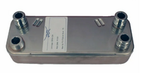 Теплообменник ГВС VAILLANT (18 пл) ATMOMAX PLUS, TURBOMAX PRO/PLUS (065131, 065123, 065110, 065153)