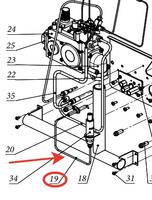Кабель пьезорозжига TRC 250 BURAN 7,5-16/35-60 S
