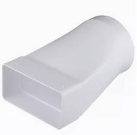 """Соединитель """"ERA"""" эксцентриковый плоского воздуховода (55х110/100) (511СП10КП) арт 50307"""