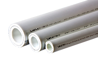 ТРУБА PP-ALUX, арм. алюминием, PN 25 (белый)