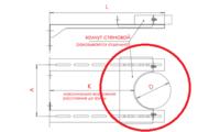 Хомут стеновой для штанги (AISI 201)