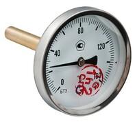 "Термометр БТ-31 Dy63 с задн. подкл., 1/2"" 0-160*"