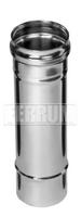 Дымоход 1,0м (430/0,5 мм)  Ф80