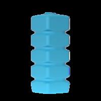 Бак д/воды Quadro W-1000 (синий) с поплавком
