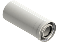 Удлинитель L=1m ,ф 60/100mm.Condensing