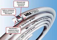Труба м/п VALTEC 20 (2.0) бухта 100м