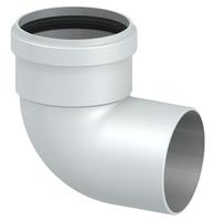 Колено алюминиевое 90°. ф80мм (папа/мама) (36шт/кор)