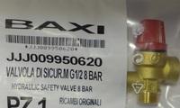 BAXI Клапан предохранительный бойлера (8 бар) 9950620