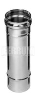 Дымоход 1,0м (430/0,5 мм) Ф125