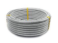 Труба гофр. из нерж.сталь термообработанная HF 12A,Lavita (60м/бухта)