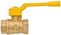 Кран шаровой 11б27п М Ду32 Ру16 г/г рыч газ