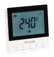 Термостат комнатный Teplocom TSF-Prog-220/16A для электрического теплого пола