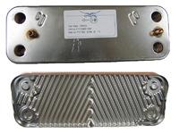 BAXI Вторичный пластинчатый теплообменник 5686660 (10 пластин)