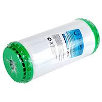 Картридж с активированным углем и элементом KDF для колбы 10 (зеленый)