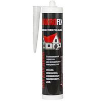 Герметик MAKROFIX универсальный силиконовый белый 280мл
