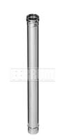 Дымоход 1,0м (430/0,8 мм) Ф115